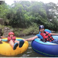River tubing near the Arenal Volcano, Costa Rica